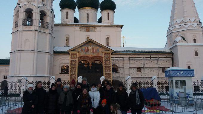 Au centre de Iaroslavl